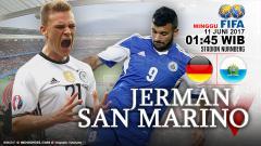 Indosport - Prediksi Jerman vs San Marino