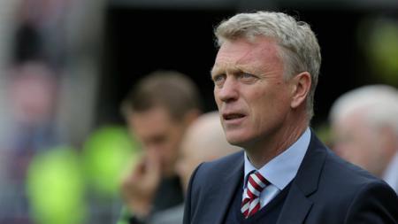 Pelatih West Ham United, David Moyes. - INDOSPORT