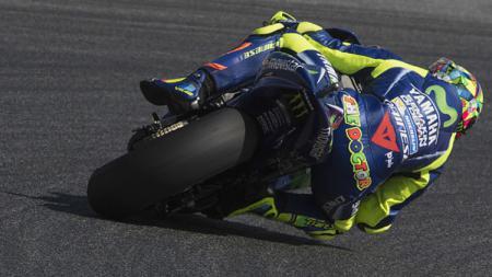 Pembalap andalan Yamaha, Valentino Rossi. - INDOSPORT