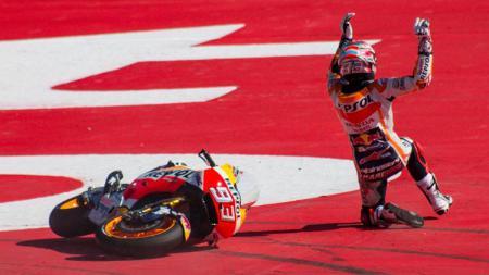 Pembalap Honda, Marc Marquez. - INDOSPORT