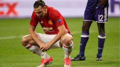 Indosport - Zlatan Ibrahimovic saat masih memperkuat Manchester United.