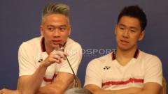 Indosport - Kevin Sanjaya dan Marcus Fernaldi.