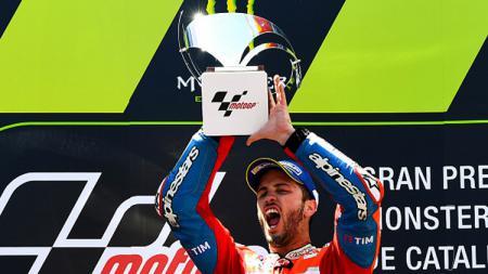 Pembalap Ducati, Andrea Dovizioso. - INDOSPORT