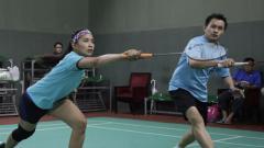 Indosport - Anindya Kusuma Putri ketika sedang bermain bulutangkis.