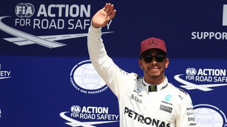 Lewis Hamilton juara di GP Kanada. - INDOSPORT