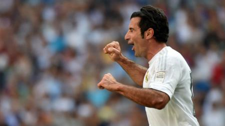 Legenda Real Madrid, Luis Figo. - INDOSPORT