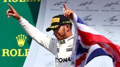 Indosport - Lewis Hamilton juara di GP Kanada 2017.