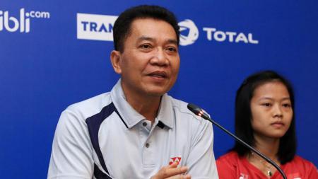 Sekretaris Jenderal PBSI, Achmad Budiarto membeberkan tiga tantangan untuk pengganti Wiranto di kursi Ketua Umum untuk periode 2020 - 2024. - INDOSPORT