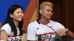 Indosport - Praveen Jordan dan Debby Susanto.