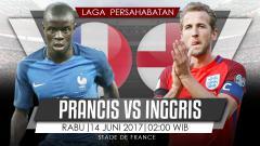 Indosport - Prediksi Prancis vs Inggris.