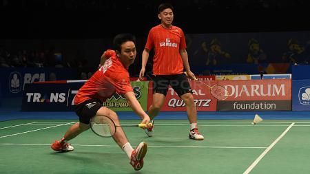 Hendra Setiawan/Tan Boon Heong di Indonesia Open 2017. - INDOSPORT