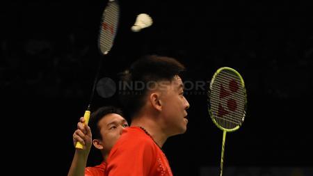 Legenda Malaysia, Tan Boon Heong, menganggap pasangan ganda putra Indonesia, Markis Kido/Hendra Setiawan, sebagai lawan yang berat. - INDOSPORT