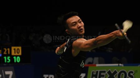 Ihsan Maulana Mustofa di Indonesia Open 2017. - INDOSPORT