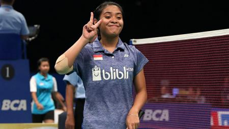 Gregoria Mariska di babak kualifikasi Indonesia Open 2017. - INDOSPORT