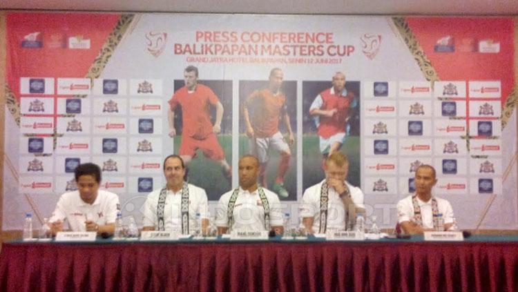Pres Konferensi Pers Balikpapan Master Cup. Copyright: Teddy Rumengan/INDOSPORT