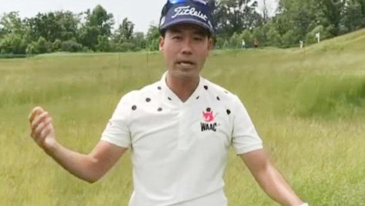 Pegolf asal Korea Selatan, Kevin Na. Copyright: dailymail.co.uk