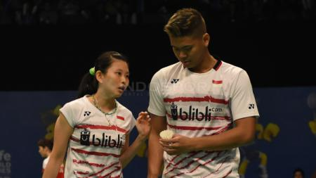 Praveen Jordan/Debby Susanto menjadi andalan Indonesia di Kejuaraan Dunia 2017. - INDOSPORT