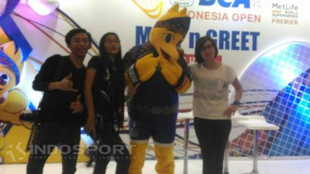 Para penonton Indonesia Open 2017. - INDOSPORT