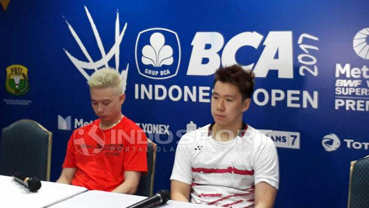 Kevin Sanjaya/Marcus Gideon. Copyright: Lanjar Wirartri/Indosport.com