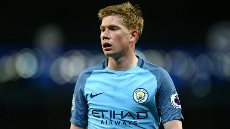 Bintang Manchester City, Kevin De Bruyne. Copyright: Robbie Jay Barratt - AMA/Getty Images