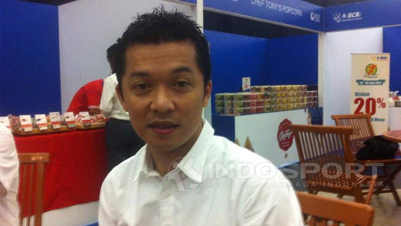 Taufik Hidayat Copyright: Zainal Hasan/Indosport.com
