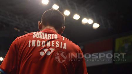 Tommy Sugiarto tak mampu menaklukkan Lee Chong Wei di babak pertama Indonesia Open 2017. - INDOSPORT