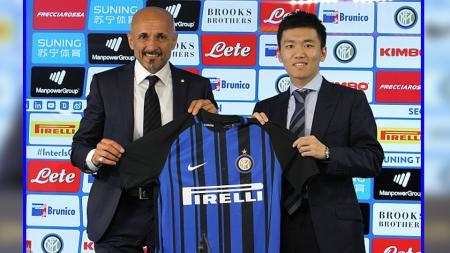 Luciano Spalletti, pelatih Inter Milan dan Steven Zhang. - INDOSPORT