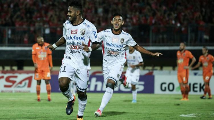 Yabes Roni akan kembali ke skuat Bali United kontra Arema. Copyright: baliutd.com