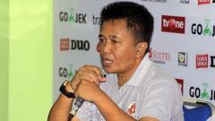 Indosport - Pelatih Perseru Serui, Agus Yuwono.