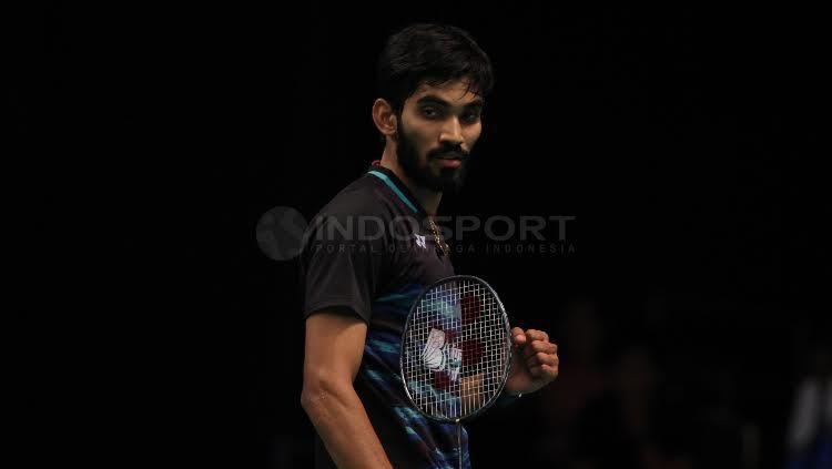 Kidambi Srikanth Copyright: Herry Ibrahim/Indosport.com