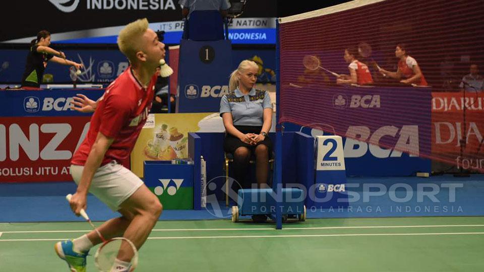 Iris Metspalu Copyright: Herry Ibrahim/Indosport.com