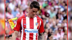 Indosport - Fernando Torres, striker Atletico Madrid.