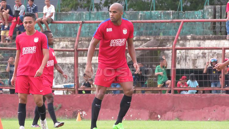Striker PSM Makassar, Reinaldo Elias da Costa. Copyright: Muhammad Nur Basri/INDOSPORT