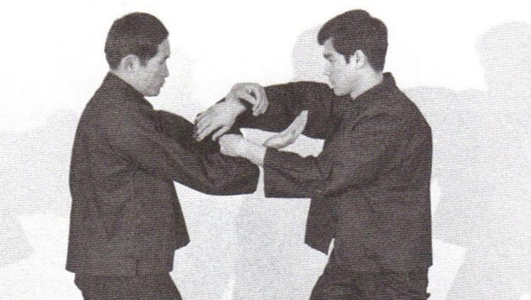 Ted Wong vs Bruce Lee. Copyright: Pinterest