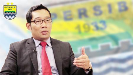 Gubernur Jawa Barat sekaligus Bobotoh Persib, Ridwan Kamil. - INDOSPORT