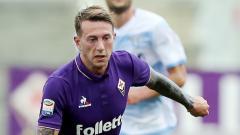 Indosport - Federico Bernardeschi saat masih berseragam Fiorentina.
