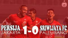 Indosport - Persija Jakarta berhasil kalahkan Sriwijaya FC dengan skor 1-0.