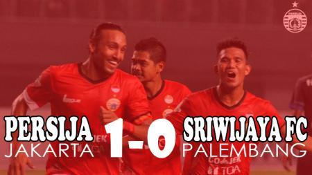 Persija Jakarta berhasil kalahkan Sriwijaya FC dengan skor 1-0. - INDOSPORT