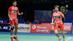 Indosport - Tontowi Ahmad/Liliyana Natsir merebut tiket semifinal Indonesia Open 2017.