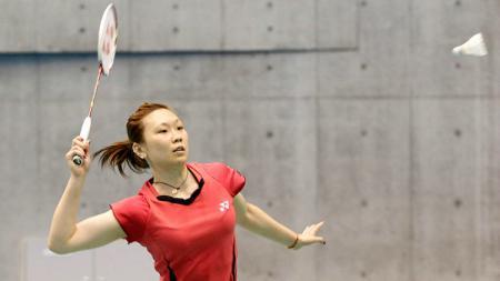 Berita sportainment: Beiwen Zhang, pebulutangkis Amerika Serikat yang menjadi sorotan BWF saat Hong Kong Open 2019. - INDOSPORT