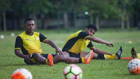 David Laly tak sabar hadapi Persib Bandung. - INDOSPORT
