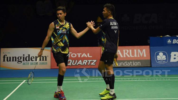 Fajar Alfian dan Muhammad Rian Ardianto Copyright: Herry Ibrahim/Indosport.com