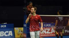 Indosport - Mathias Boe dan Carsten Mogensen