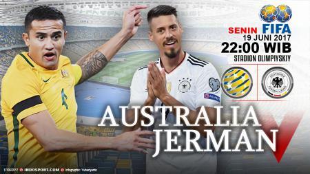 Prediksi Australia vs Jerman - INDOSPORT