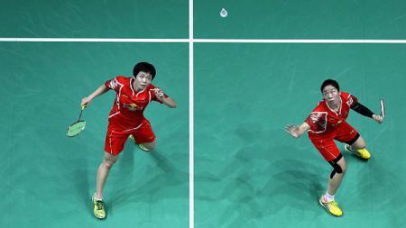 Chen Qingchen/Jia Yifan berhasil merebut gelar juara Indonesia Open 2017. - INDOSPORT
