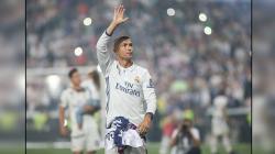 Cristiano Ronaldo, pemain megabintang Real Madrid.