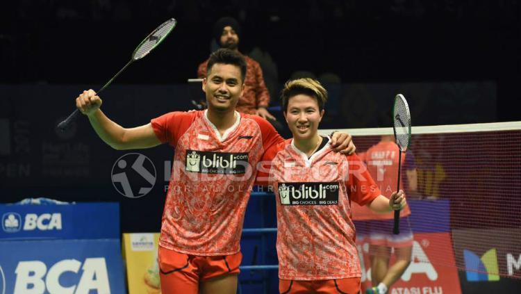 Tontowi Ahmad/Liliyana Natsir di semifinal Indonesia Open 2017 Copyright: Herry Ibrahim/INDOSPORT