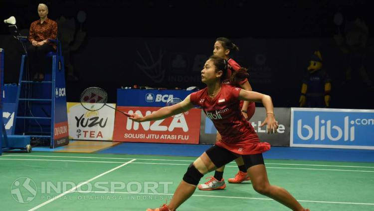 Anggia Shitta Awanda/Ni Ketut Mahadewi Istarani di semifinal Indonesia Open 2017 Copyright: Herry Ibrahim/INDOSPORT