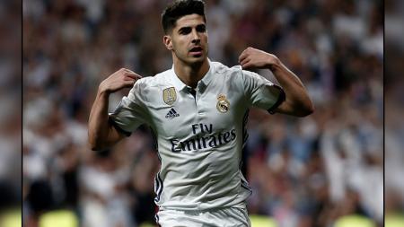 Marco Asensio, striker muda Real Madrid. - INDOSPORT