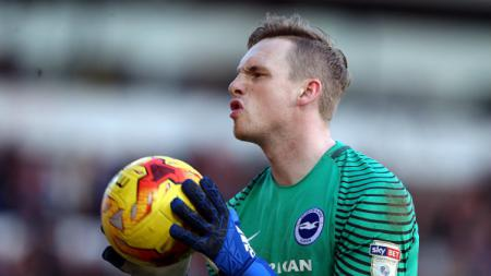 Mantan kiper Brighton, David Stockdale. - INDOSPORT